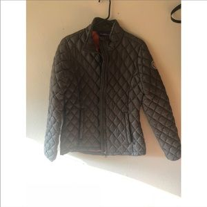 Madden Girl Army Green Quilted Winter Coat